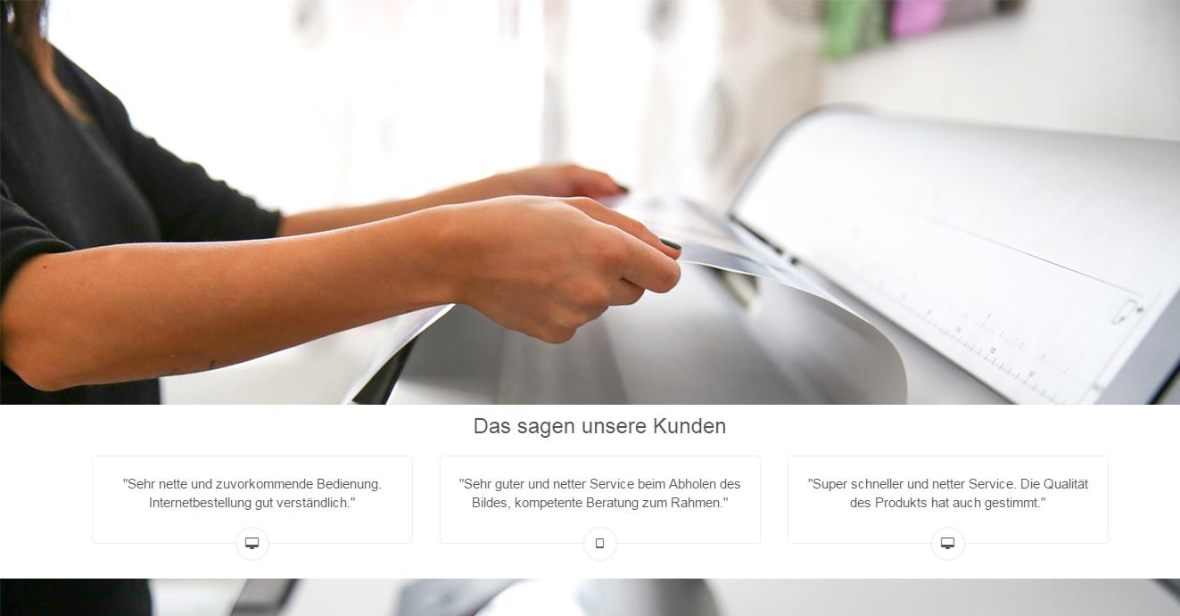 Kunden Feedback Fotolabor in Nürnberg bei Foto Seitz
