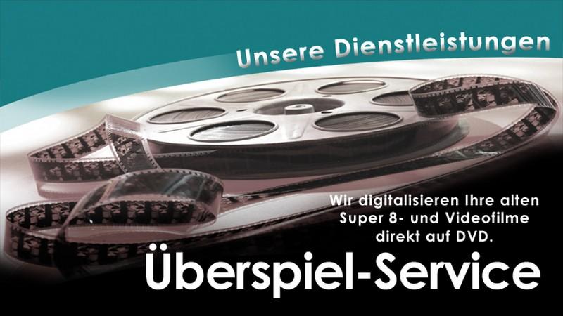 Videoueberspiel service von Foto Seitz
