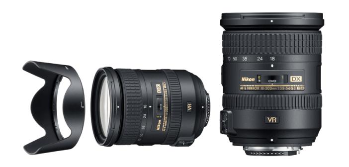 AF-S DX NIKKOR 18-200mm 3.5-5.6 G ED VR II