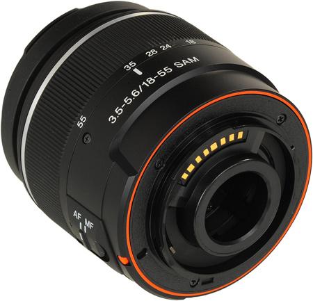 Sony DT 18-55mm SAM Objektiv bei Foto Seitz in Nürnberg