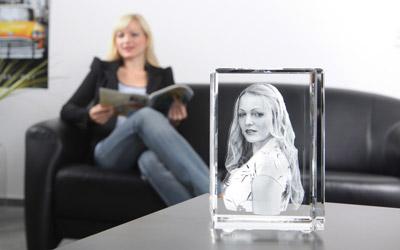 3D Foto im Glas bei Foto Seitz in Nürnberg