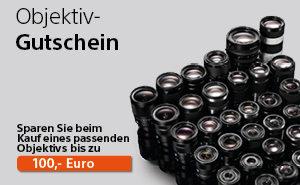 Sony Objektiv Gutschein bei Foto Seitz - Nürnberg