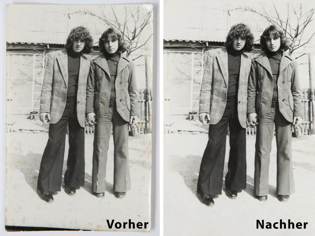 Fotorestaurierung - Alte Fotos restaurieren Bildbearbeitung bei Foto Seitz in Nürnberg