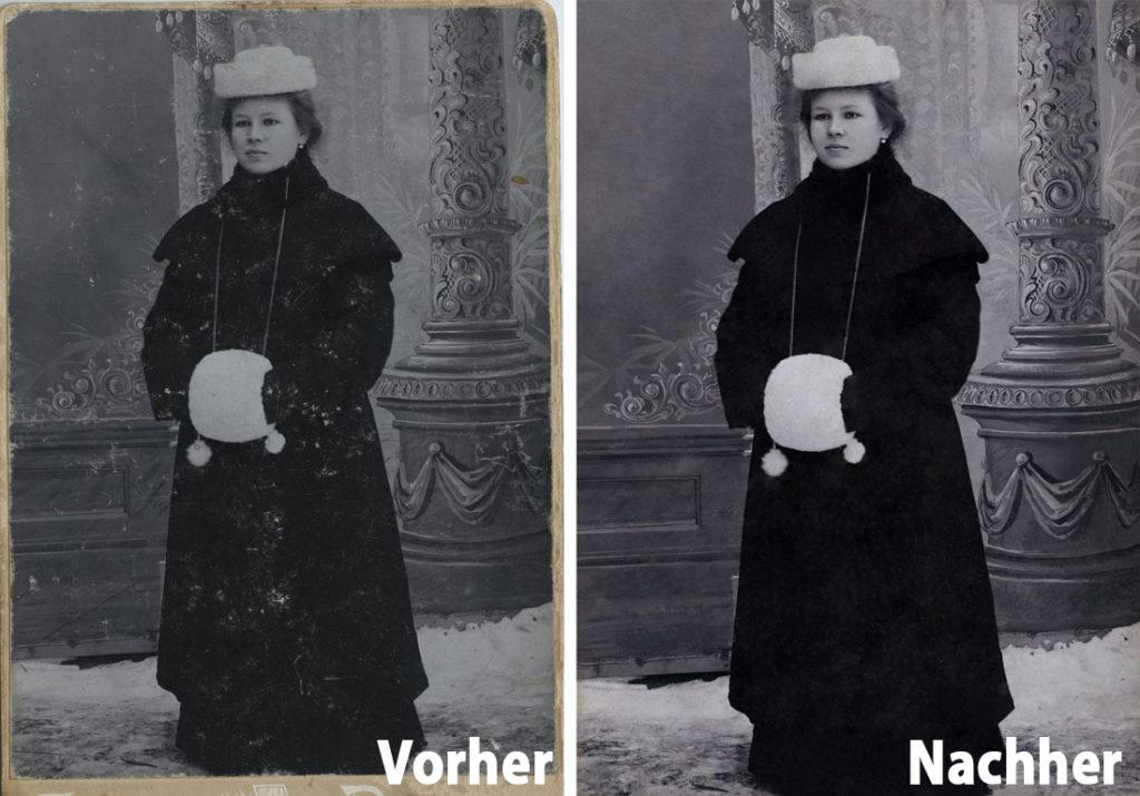 Fotorestaurierung - Alte Fotos restaurieren bei Foto Seitz