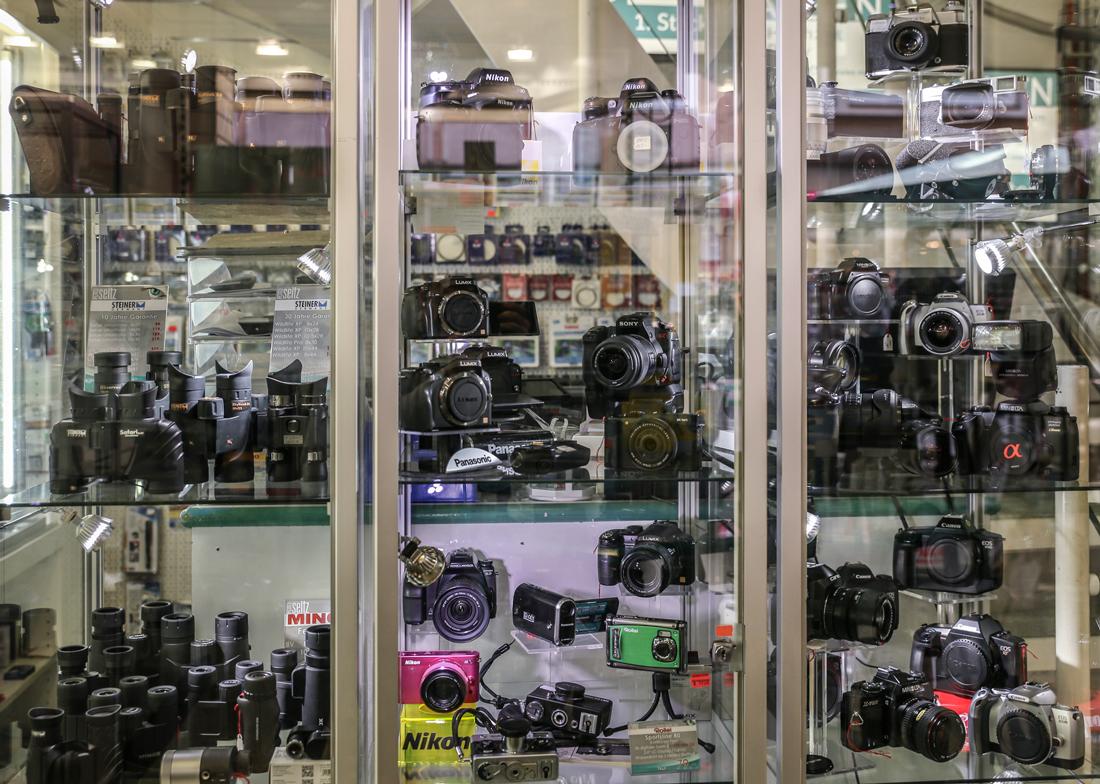 Kamera und Objektiv Ankauf bei Foto Seitz in Nürnberg Innenstadt