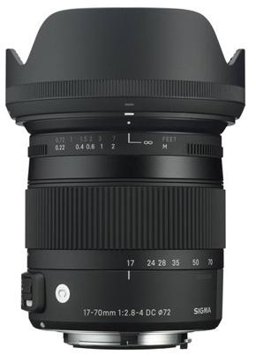 Sigma 17-70mm f2.8-4 DC Macro OS HSM Contemporary bei Foto Seitz in der Nürnberger Innenstadt