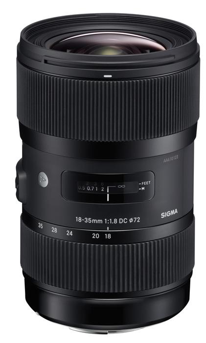 Sigma 18-35mm f1.8 DC HSM Art bei Foto Seitz in Nürnberg