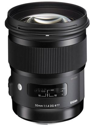 Sigma 50mm f1.4 DG HSM Art bei Foto Seitz in Nürnberg