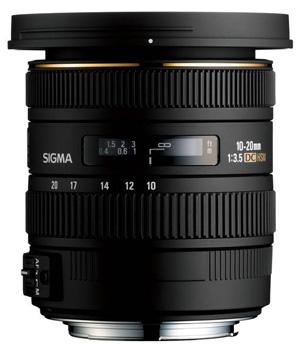 Sigma EX 10-20mm f3.5 DC HSM bei Foto Seitz in Nürnberg