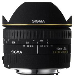 Sigma EX 15mm f2.8 DG bei Foto Seitz in Nürnberg