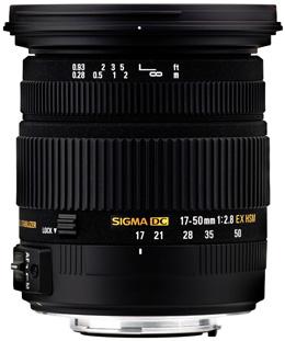 Sigma EX 17-50mm f2.8 DC OS HSM bei Foto Seitz in Nürnberg
