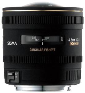 Sigma EX 4.5mm f2.8 DC HSM bei Foto Seitz in Nürnberg