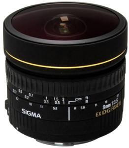 Sigma EX 8mm f3.5 DG bei Foto Seitz in Nürnberg