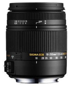 Sigma DC 18-250mm f3.5-6.3 Macro OS HSM bei Foto Seitz in Nürnberg