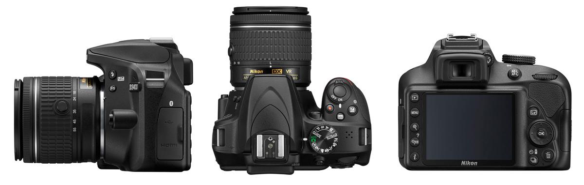 Nikon D3400 jetzt bei Foto Seitz in der Nürnberger Innenstadt