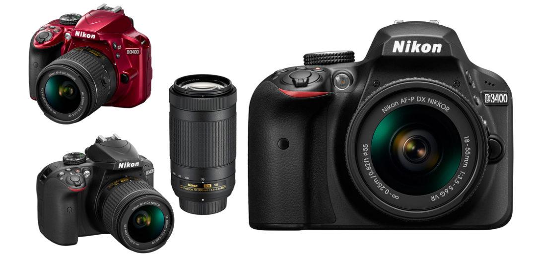Nikon D3400 jetzt bei Foto Seitz in Nürnberger