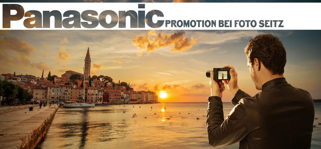 Panasonic Promotion bei Foto Seitz in Nürnberg - 14-15.10.2016