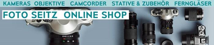 Onlineshop - online kaufen bei Foto Seitz in Nürnberg