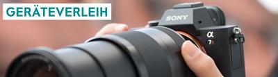Geräteverleih Kamera RENT in Nürnberg bei Foto Seitz