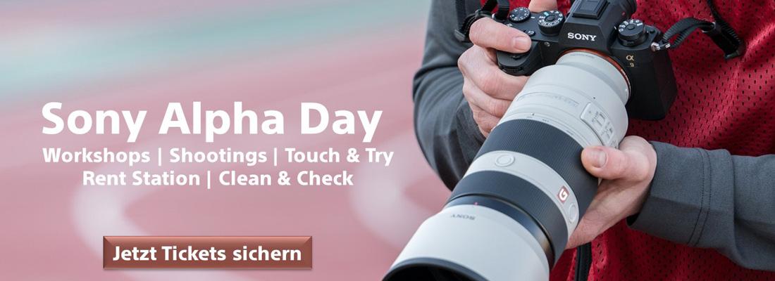 Sony Alpha Day 23.09.2017 in München - Jetzt Tickets Online kaufen