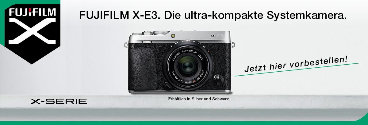 Fujifilm E-X3
