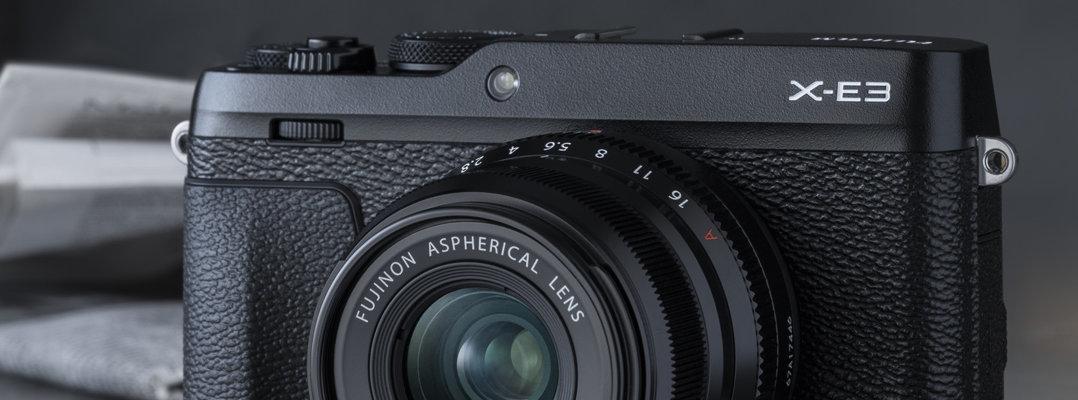 Fujifilm X-E3 jetzt neu bei Foto Seitz