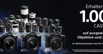Sony Cashback Aktion Winter 2017 bei Foto Seitz