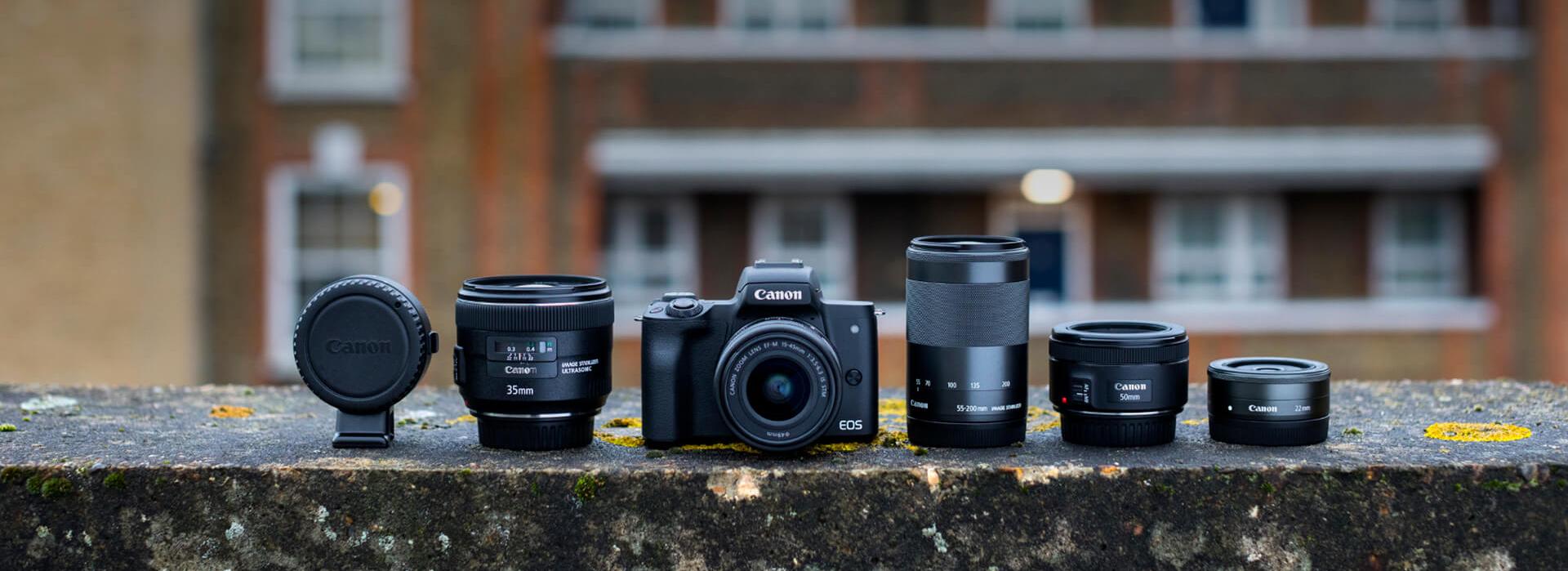 Canon-EOS-M50-mit-Objketiven-bei-Foto-Seitz