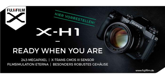 Fujifilm X-H1 Banner bei Foto Seitz