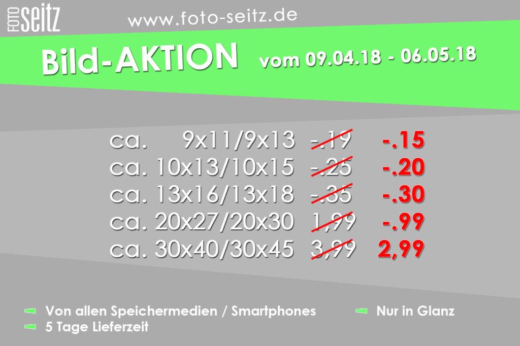 Digitalbild Sonderpreise 09.04.-06.05.18 bei Foto Seitz