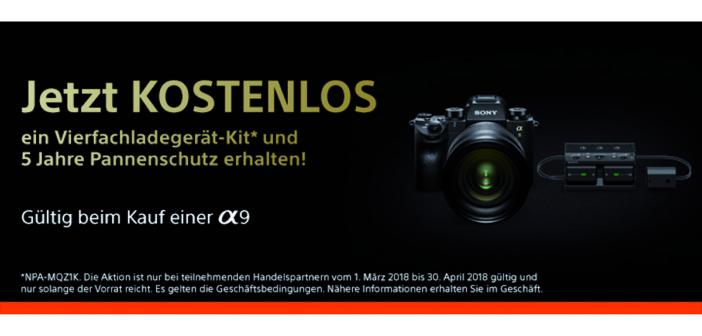 Sony Aktion bis 30. April 2018