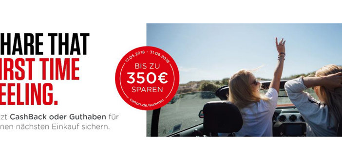 Canon Sommer Promotion 2018