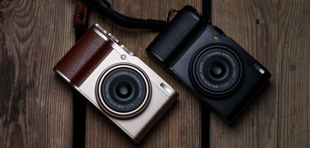 Fujifilm XF10 in schwarz oder gold bei Foto Seitz