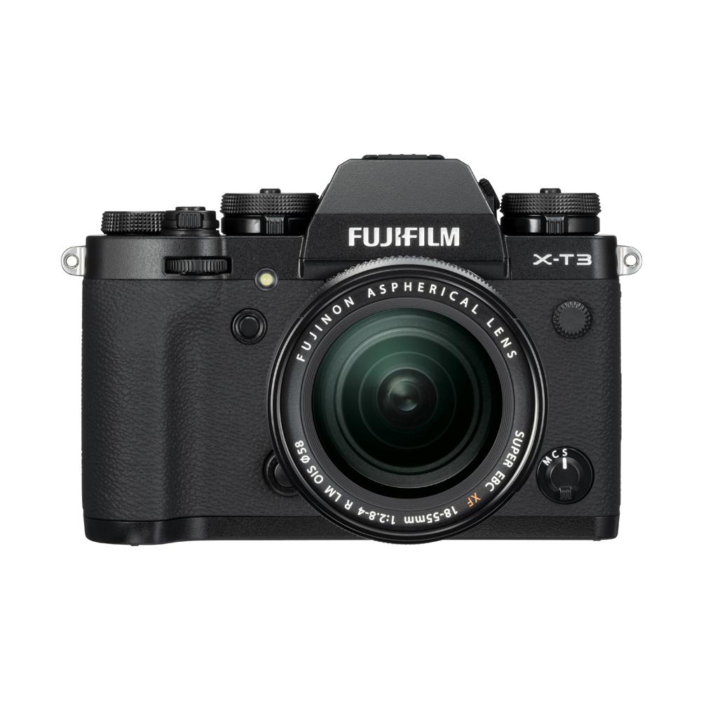 Die neue Fujifilm X-T3 in schwarz bei Foto Seitz