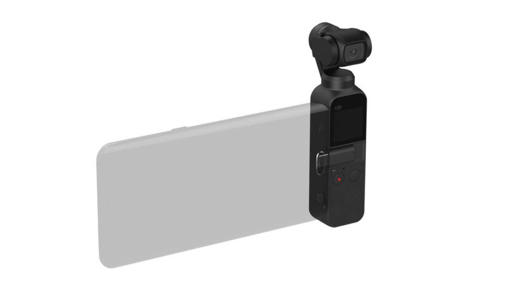 DJI Osmo Pocket Gimbal für Smartphones
