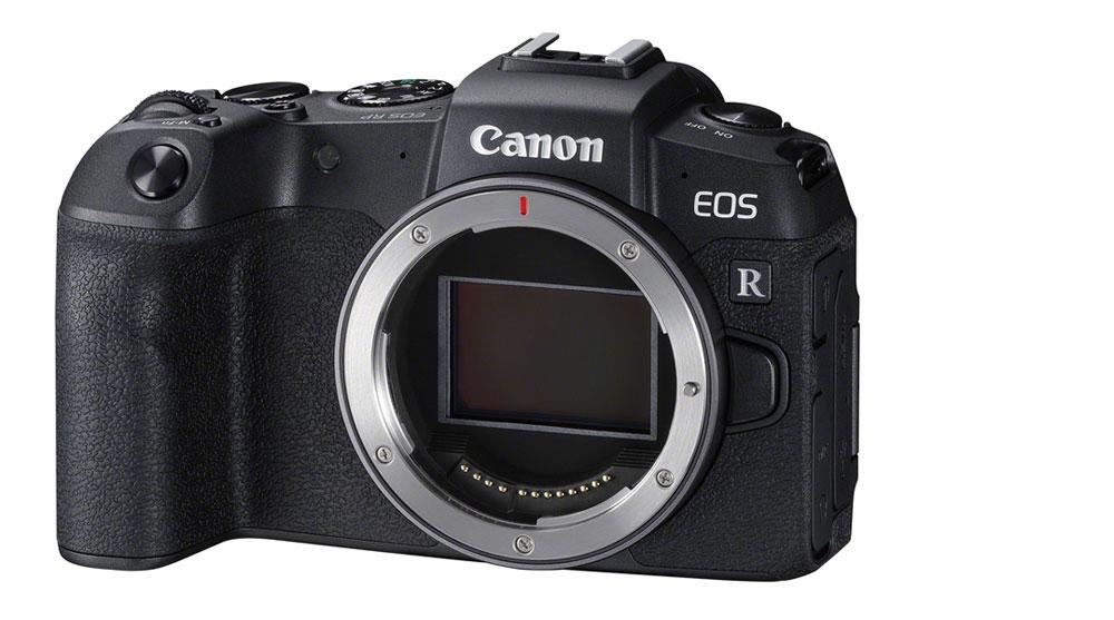 Die Canon EOS RP bei Foto Seitz