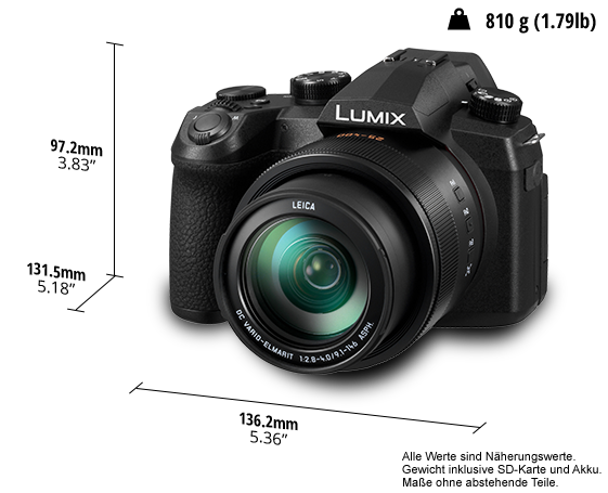 LUMIX FZ1000 II im Detail
