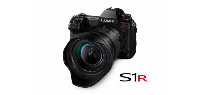 Panasonic LUMIX S1R Vollformat Systemkamera