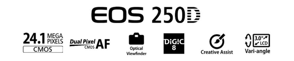 Canon EOS 250D Features