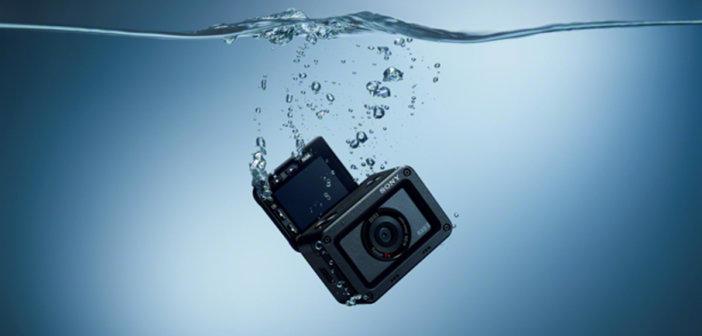 Wasserfeste Ultrakompaktkamera SONY RX0 II bei Foto Seitz