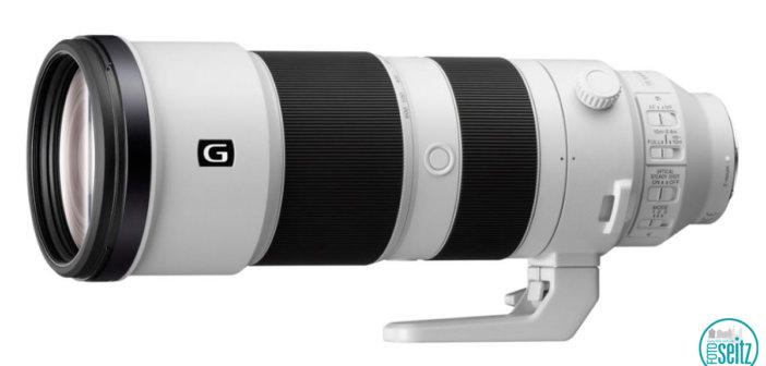 Sony SEL FE 5,6-6,3/200-600 mm G OSS
