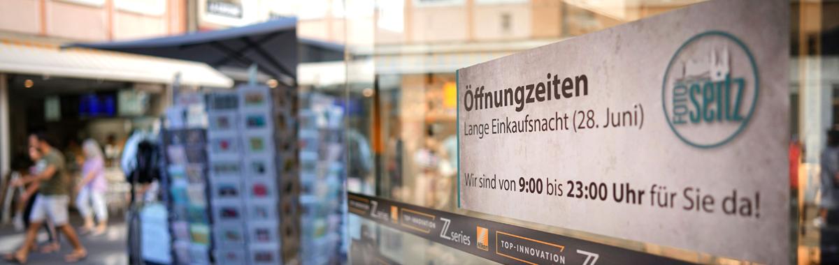 Lange Einkaufsnacht 2019 bei Foto Seitz